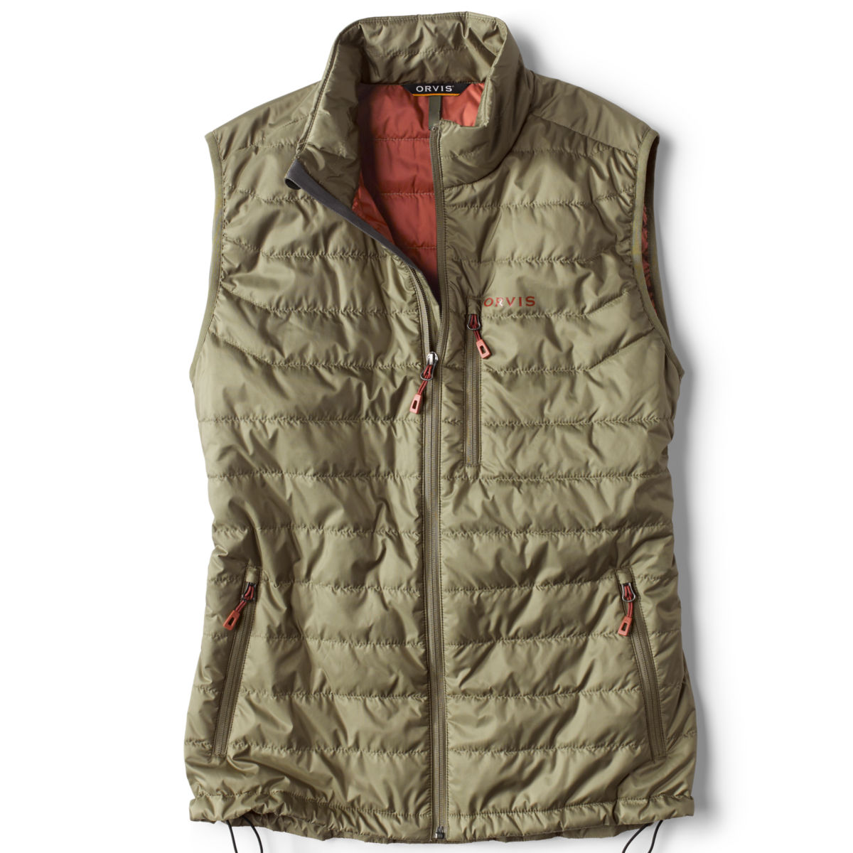 Recycled Drift Vest - MOSS GREENimage number 0