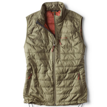 Recycled Drift Vest - MOSS GREEN image number 0