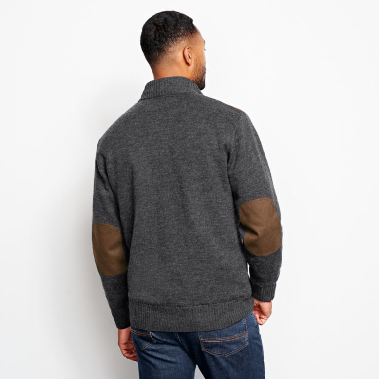 Foul-Weather Quarter-Zip Pullover - CHARCOAL image number 3