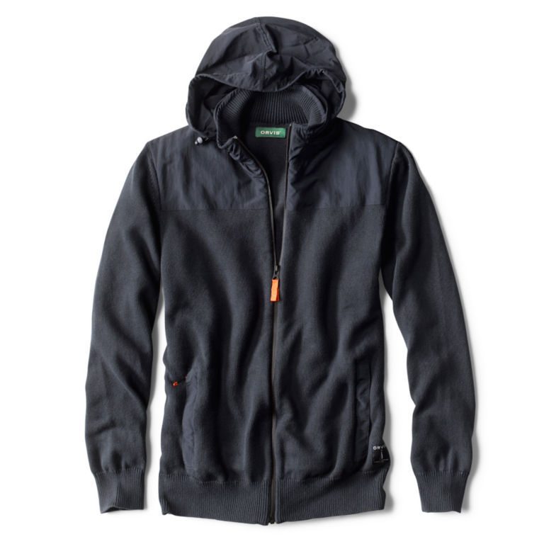 Performance Full-Zip Sweater - NAVY image number 1