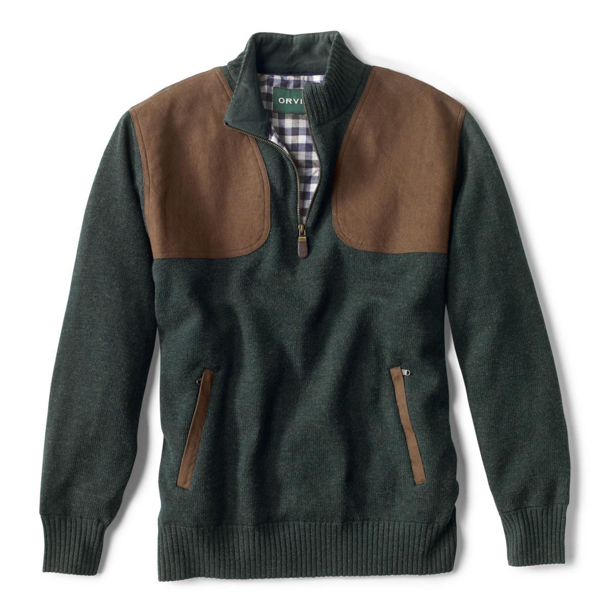 Foul-Weather Quarter-Zip Pullover - DARK PINEimage number 0
