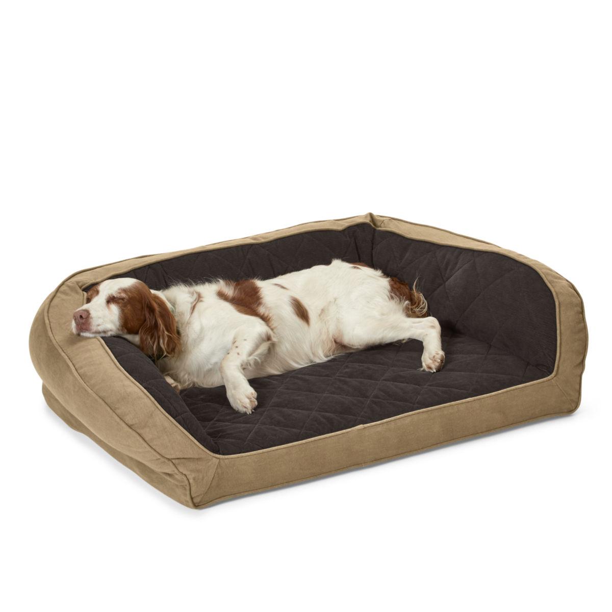 Heritage Memory Foam Bolster Dog Bed - image number 0