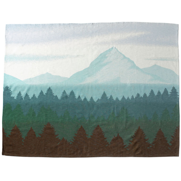 Organic Cotton Mountain Throw -  image number 1