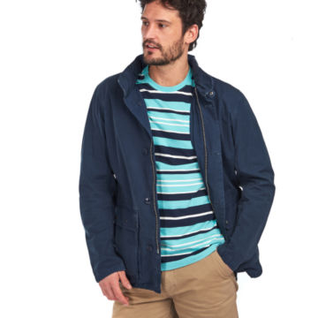 Barbour® Grent Casual Jacket - NAVY image number 1