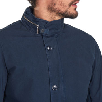 Barbour® Grent Casual Jacket - NAVY image number 3