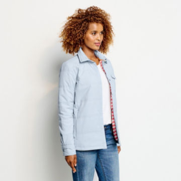 Women's Tech Chambray Shirt Jacket - BLUE FOG image number 2