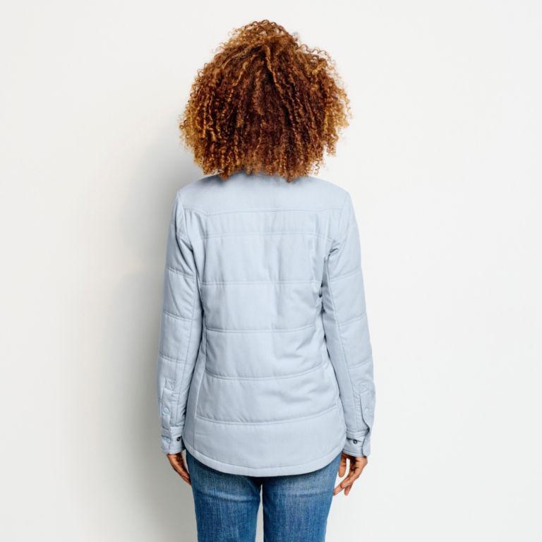Women's Tech Chambray Shirt Jacket - BLUE FOG image number 3