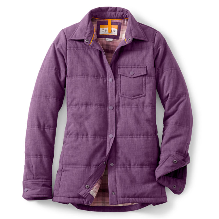 Women's Tech Chambray Shirt Jacket -  image number 0