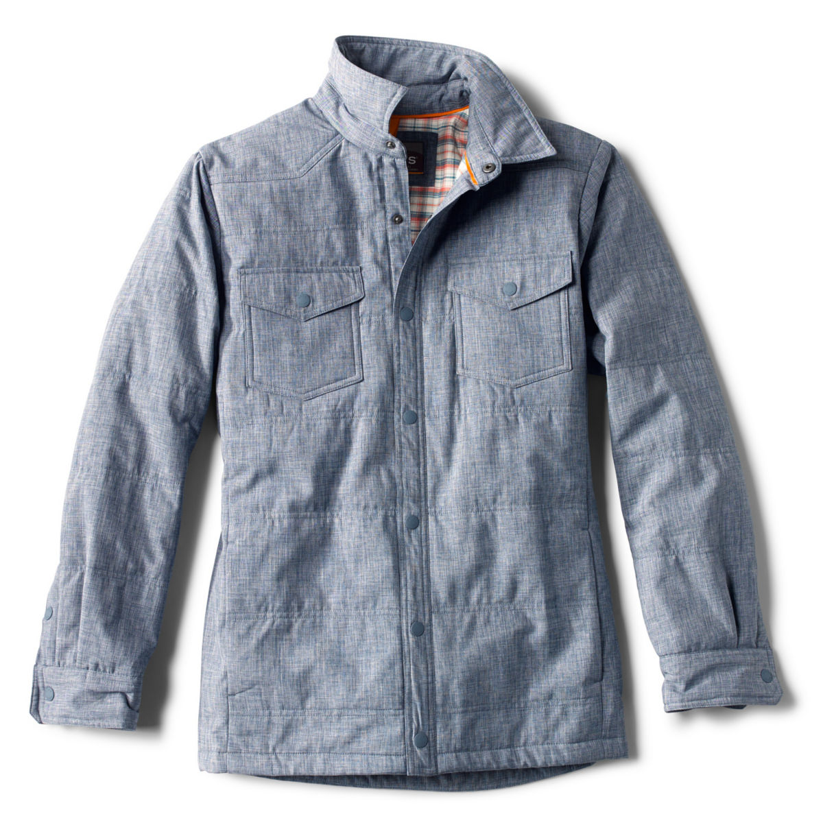 Tech Chambray Shirt Jacket - image number 0