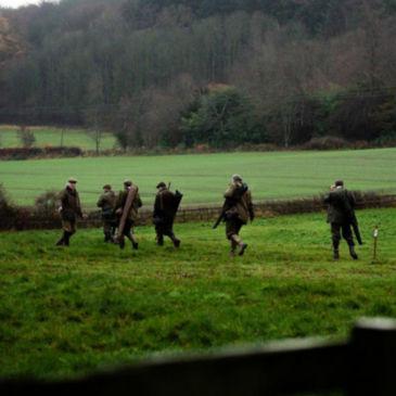 Scottish Driven Shoot at Craigsanquhar -
