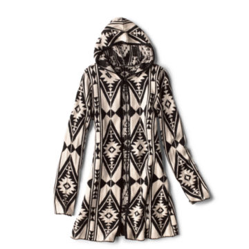 Badlands Hooded Cardigan - BLACK image number 0