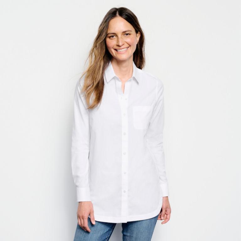 Wrinkle-Free Tunic Shirt -  image number 1