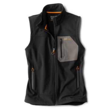 Tech Softshell Vest - BLACK image number 0