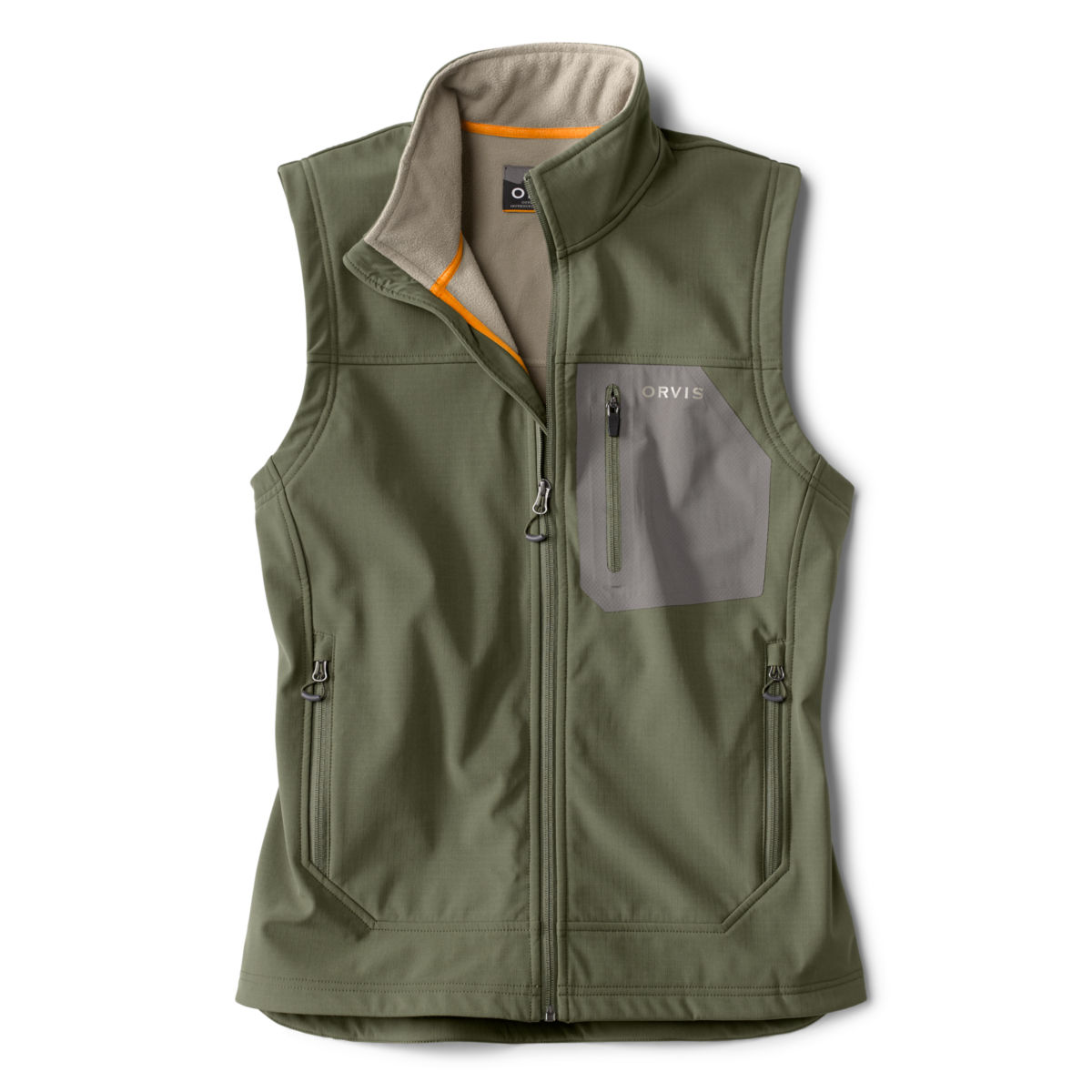 Tech Softshell Vest - OLIVE KHAKIimage number 0