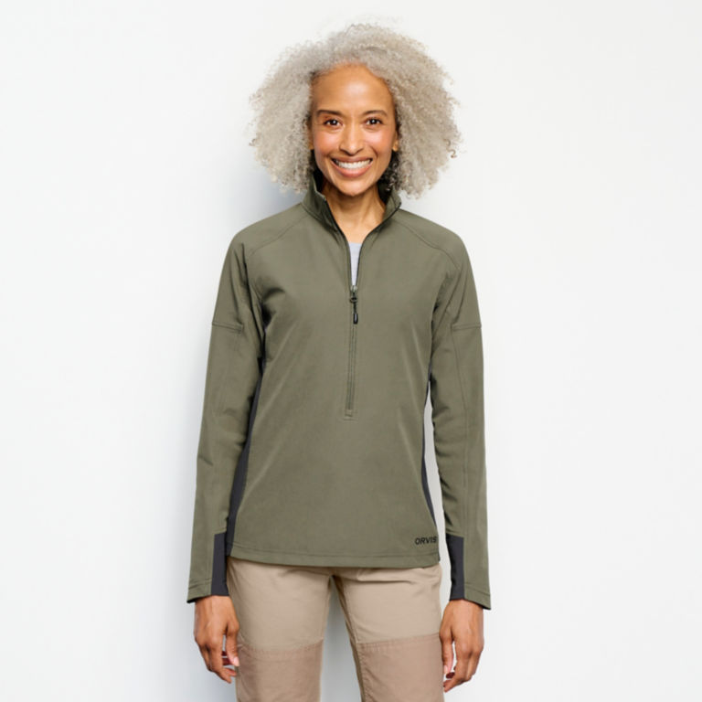 Women's PRO LT Softshell Pullover -  image number 0