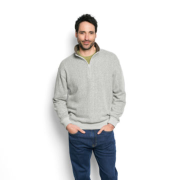 Ultra-Ragg Zipneck Sweatshirt -  image number 1