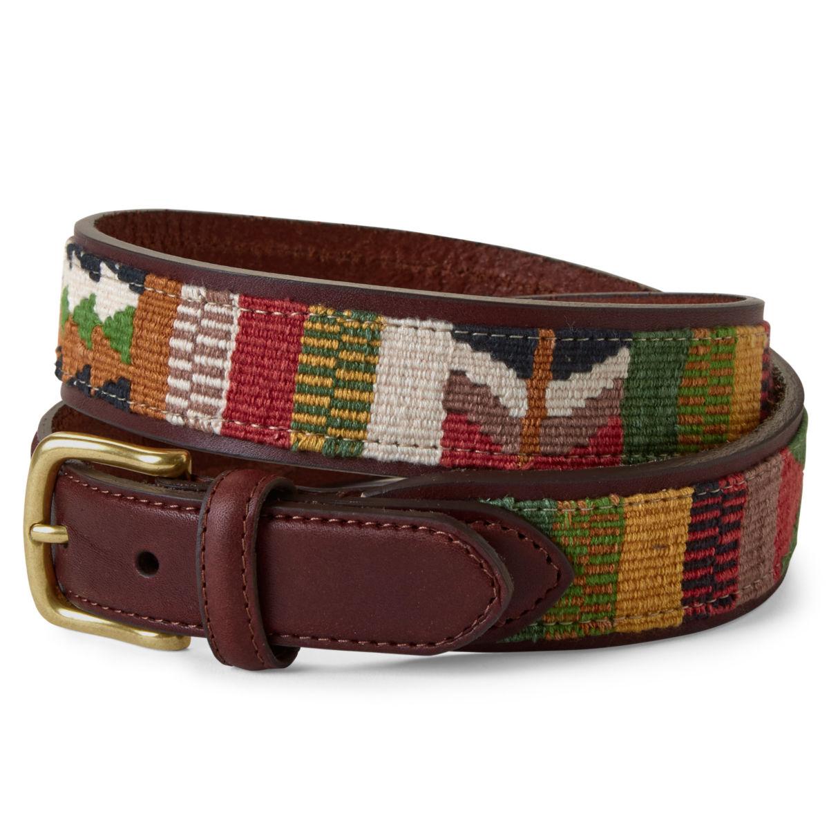 Latigo Leather Guatemalan Belt - image number 0