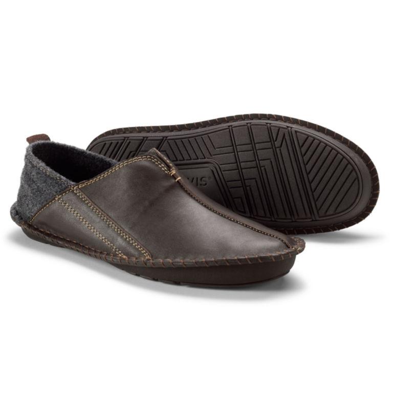 Indoor/Outdoor Slippers - BROWN CHARCOAL image number 0
