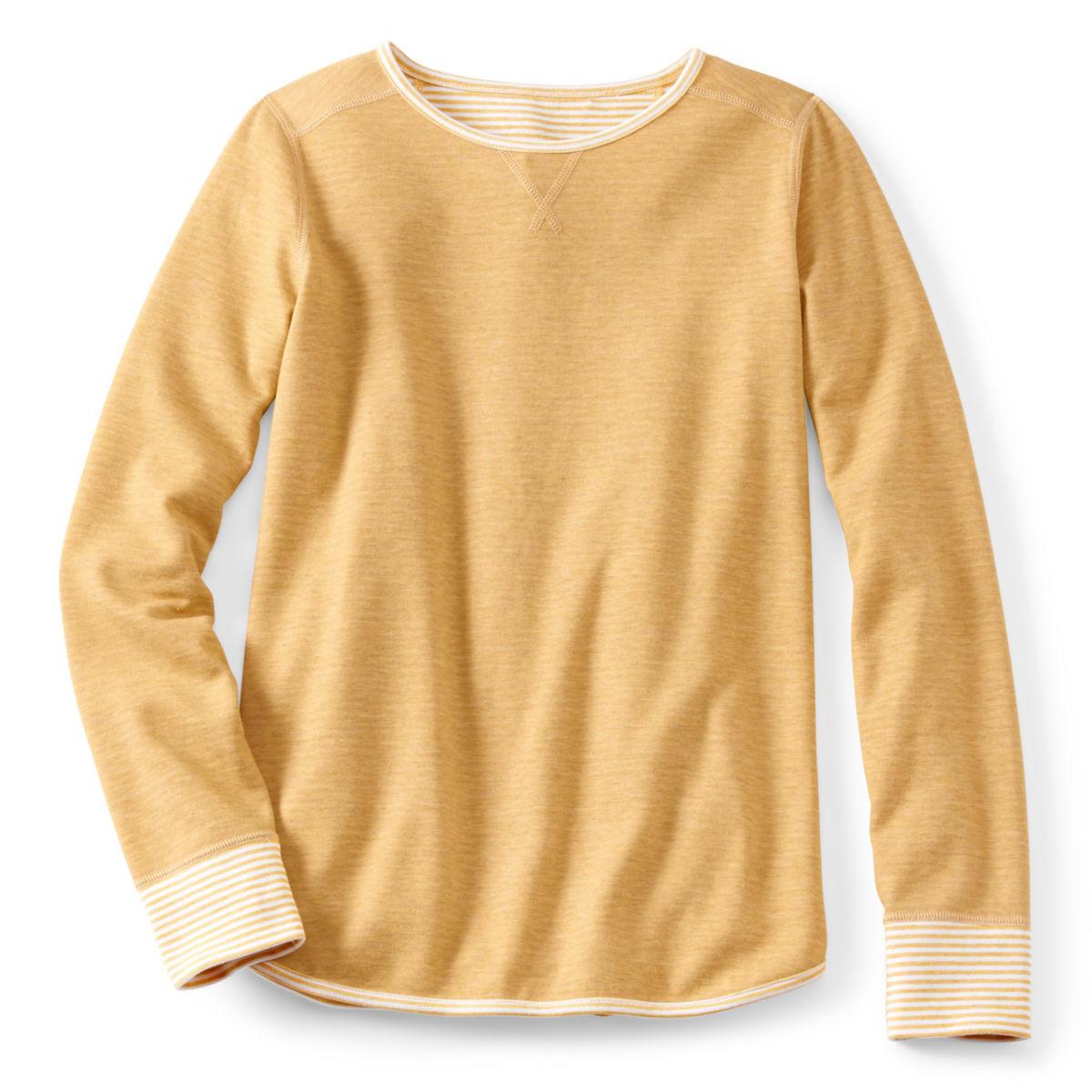 Reversible Journey Crew Sweatshirt - HARVEST GOLDimage number 0