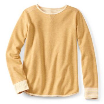 Reversible Journey Crew Sweatshirt - HARVEST GOLD image number 0