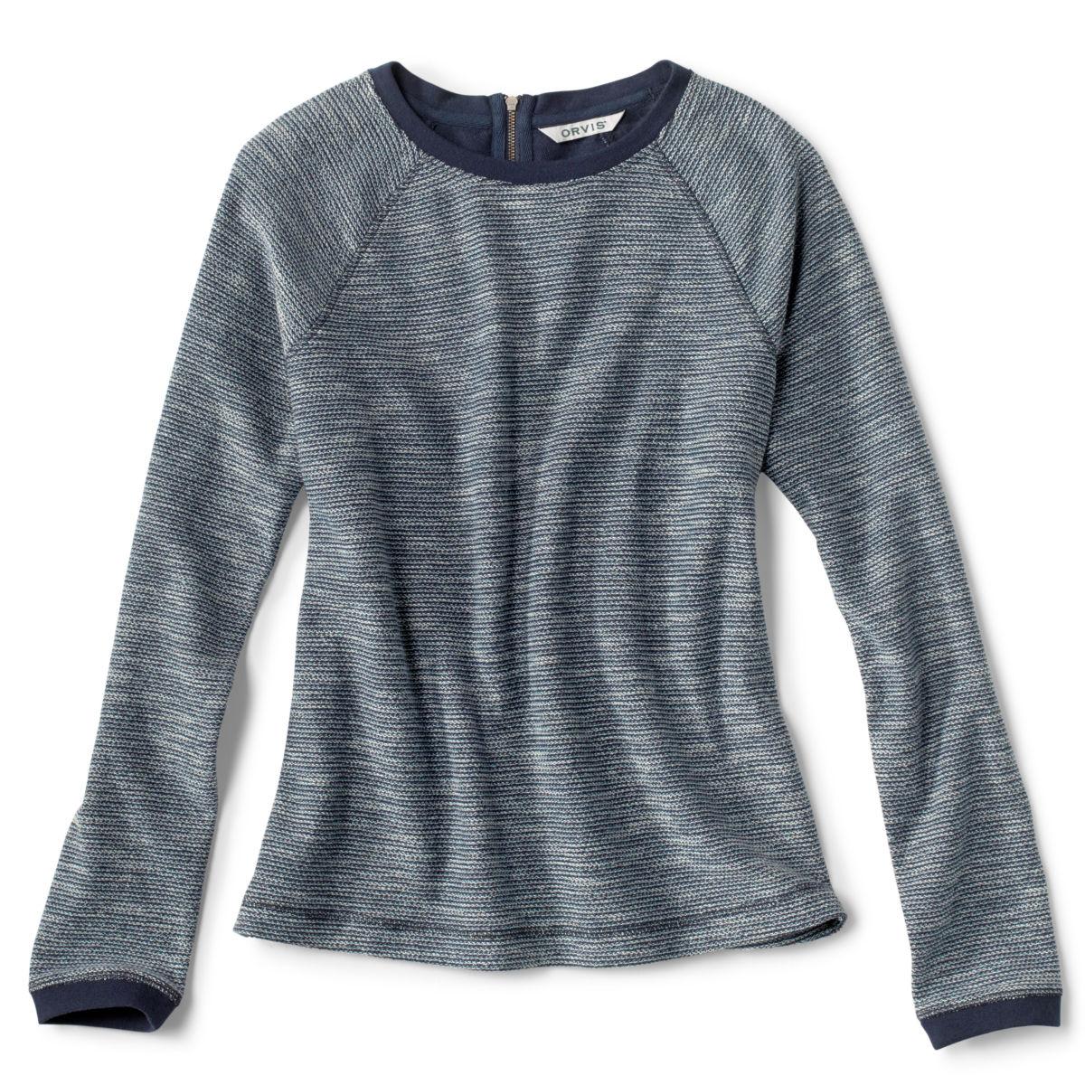 Crewneck Multi Terry Sweatshirt - BLUE MOONimage number 0