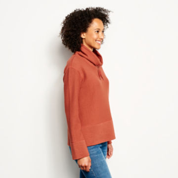 Textured Cowl Sweatshirt -  image number 1