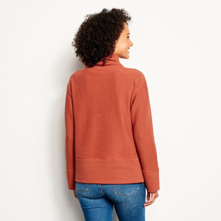 Textured Cowl Sweatshirt -  image number 2