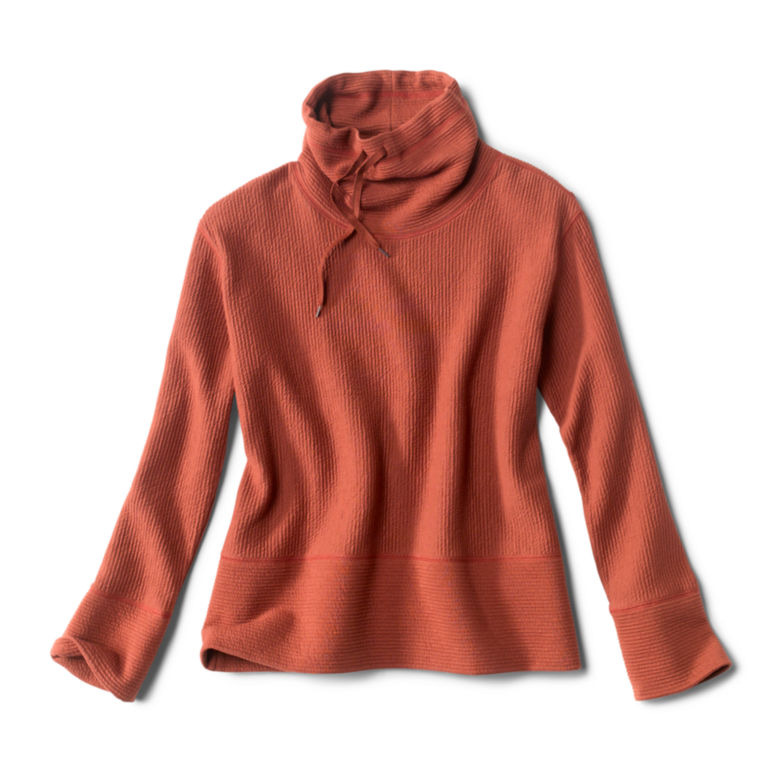 Textured Cowl Sweatshirt -  image number 4