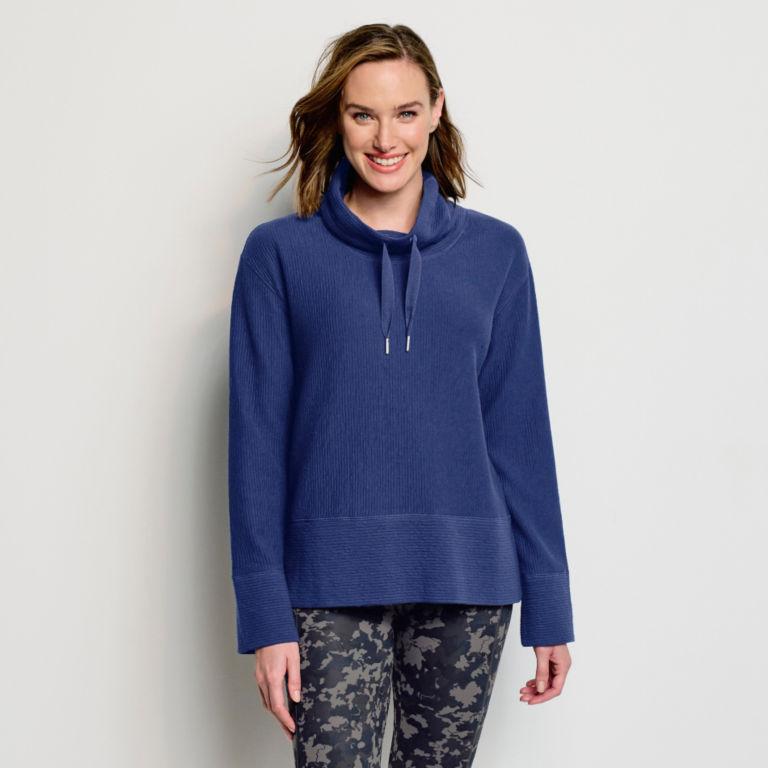 Textured Cowl Sweatshirt -  image number 0