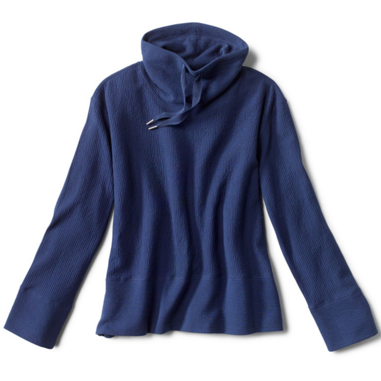 Textured Cowl Sweatshirt -  image number 3