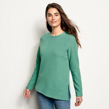 Textured Crew Sweatshirt -