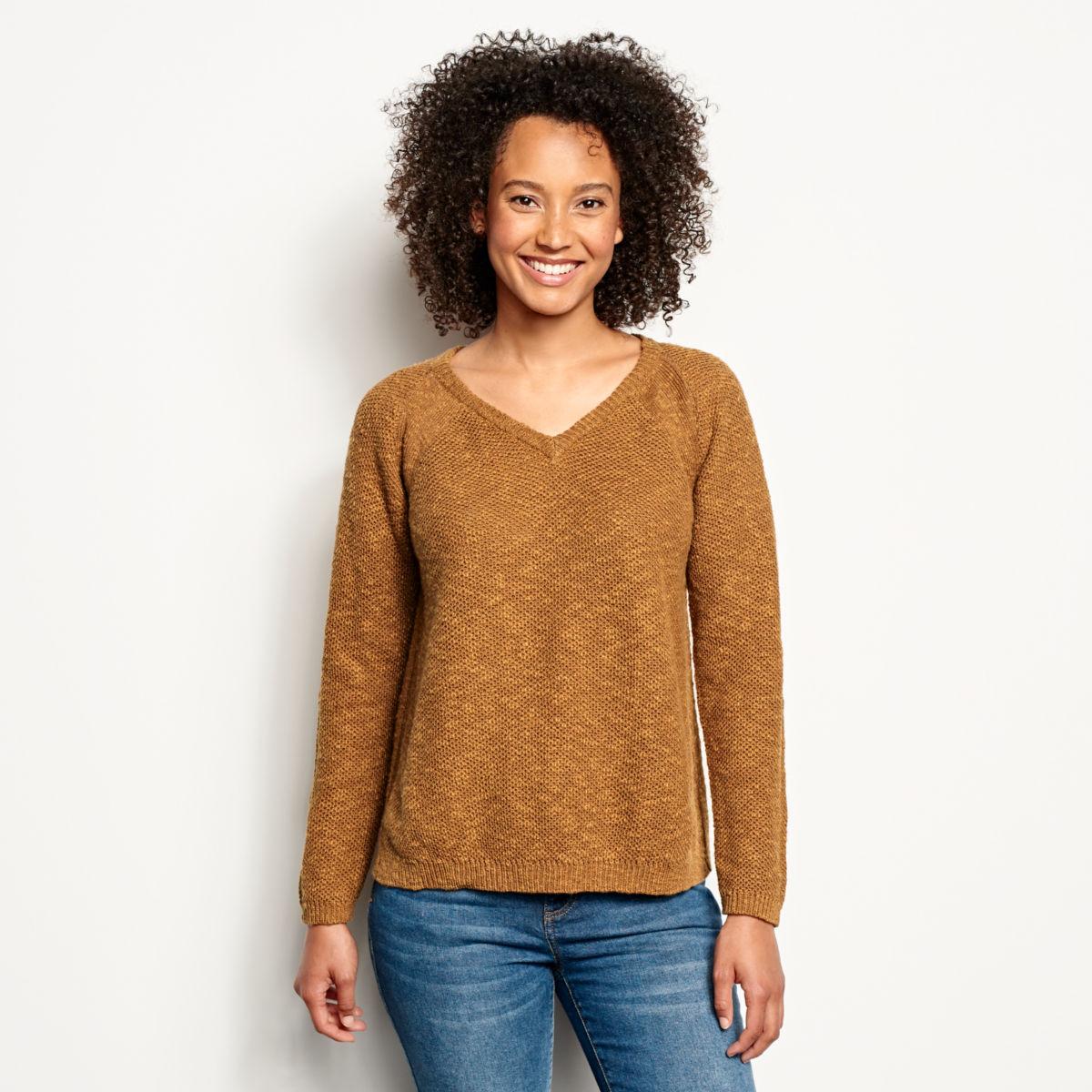Easy V-Neck Sweater - image number 0