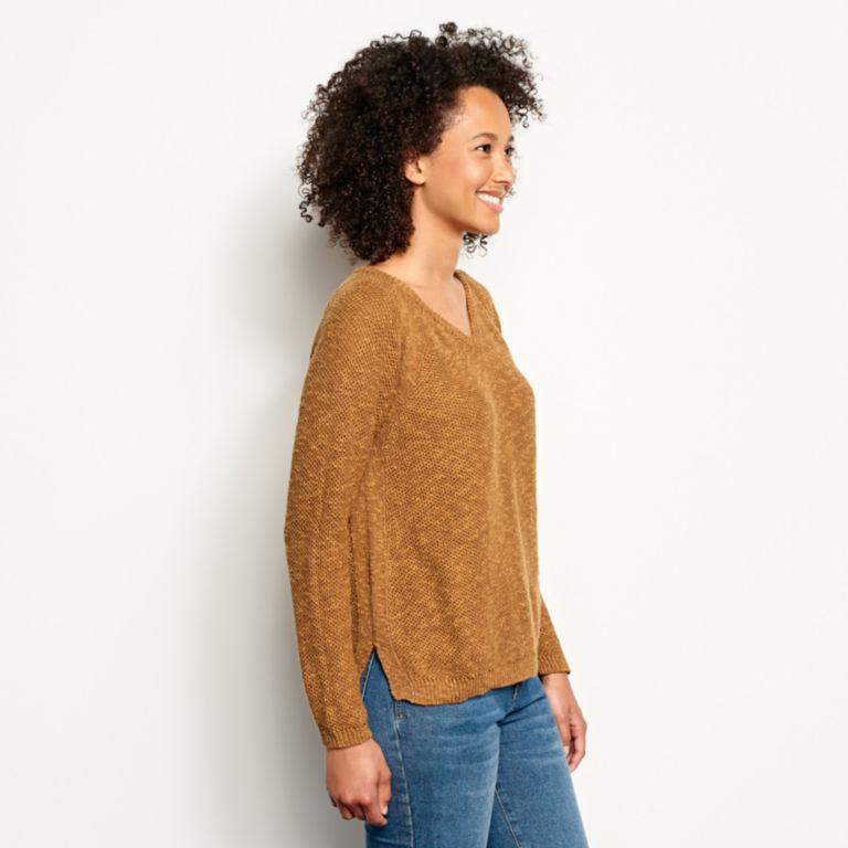 Easy V-Neck Sweater -  image number 1