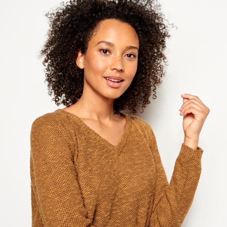 Easy V-Neck Sweater -  image number 3