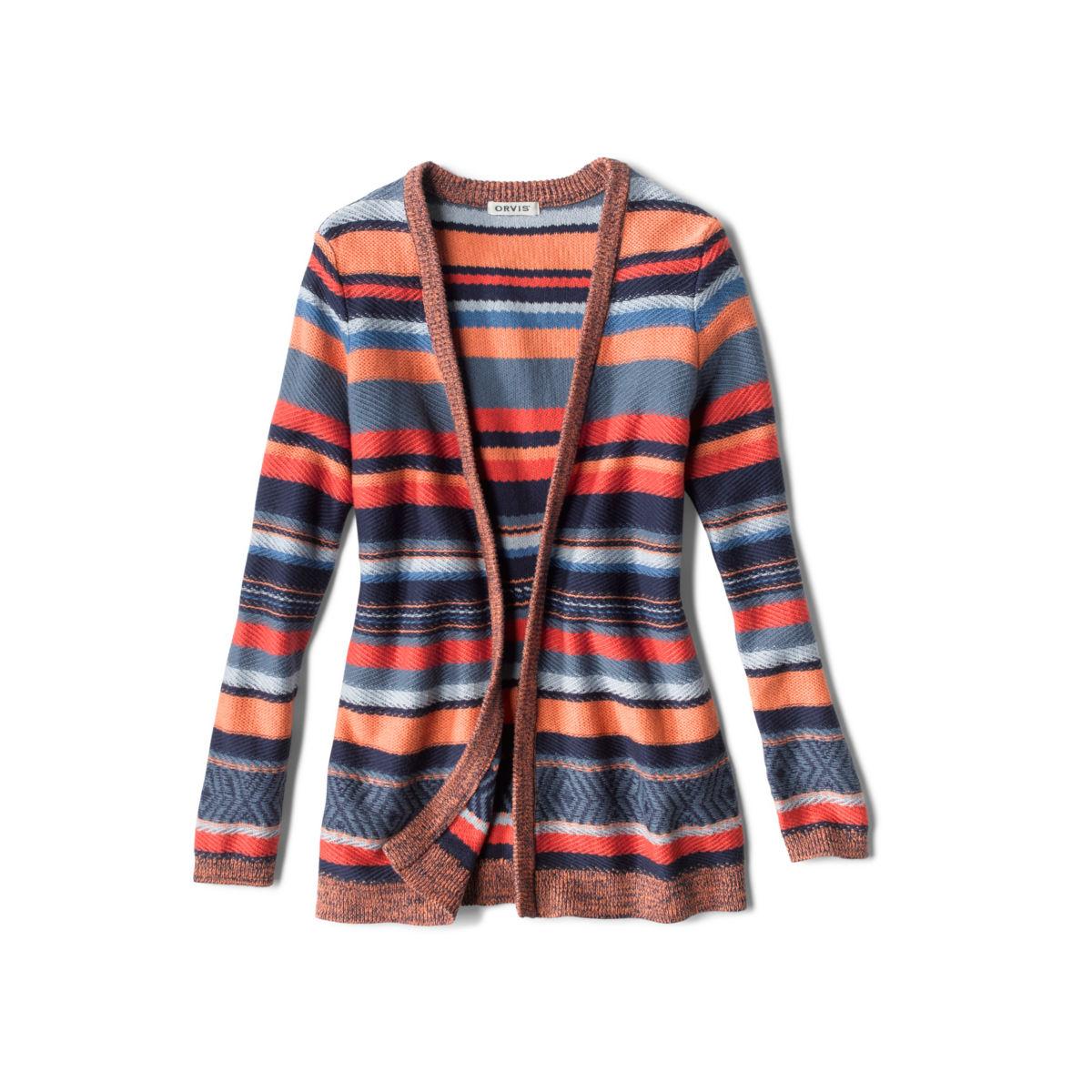 Faded Stripe Cardigan - image number 0