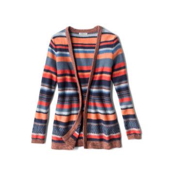 Faded Stripe Cardigan -