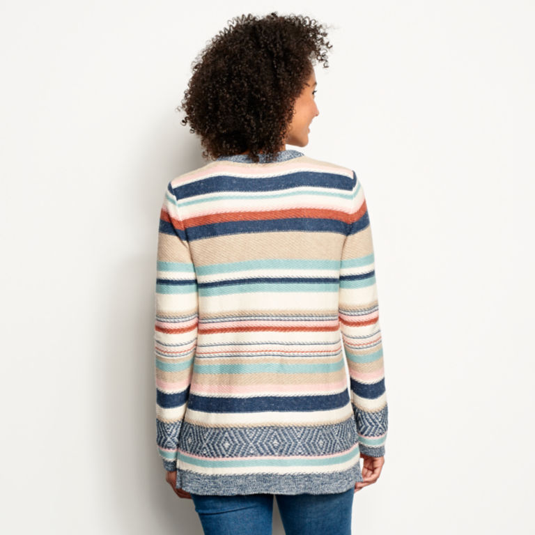 Faded Stripe Cardigan -  image number 2