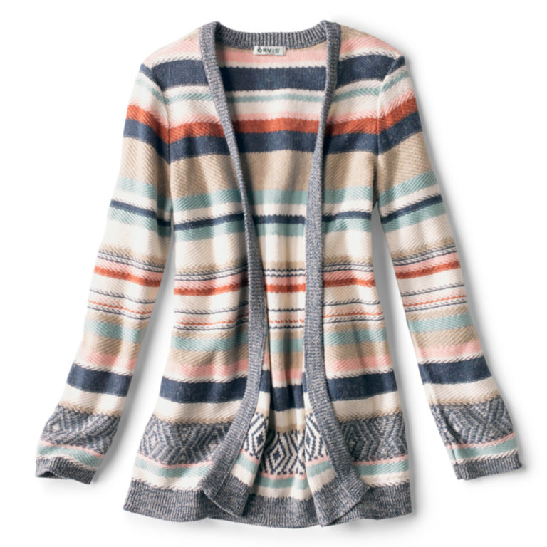 Faded Stripe Cardigan -  image number 4