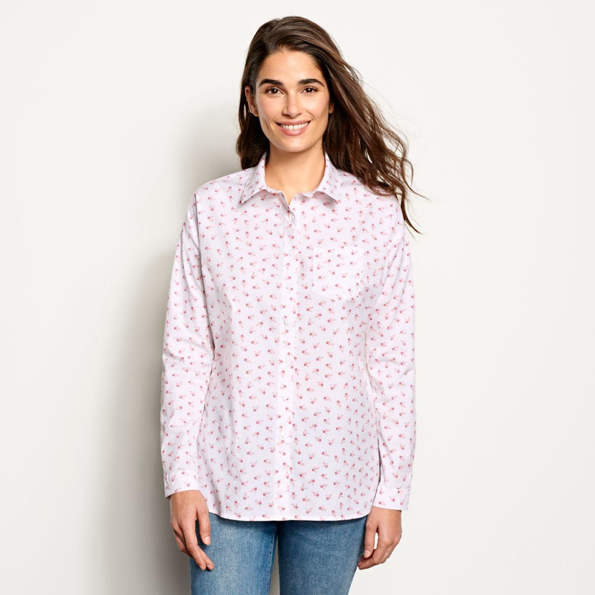 Stretch Heritage Poplin Shirt - image number 0