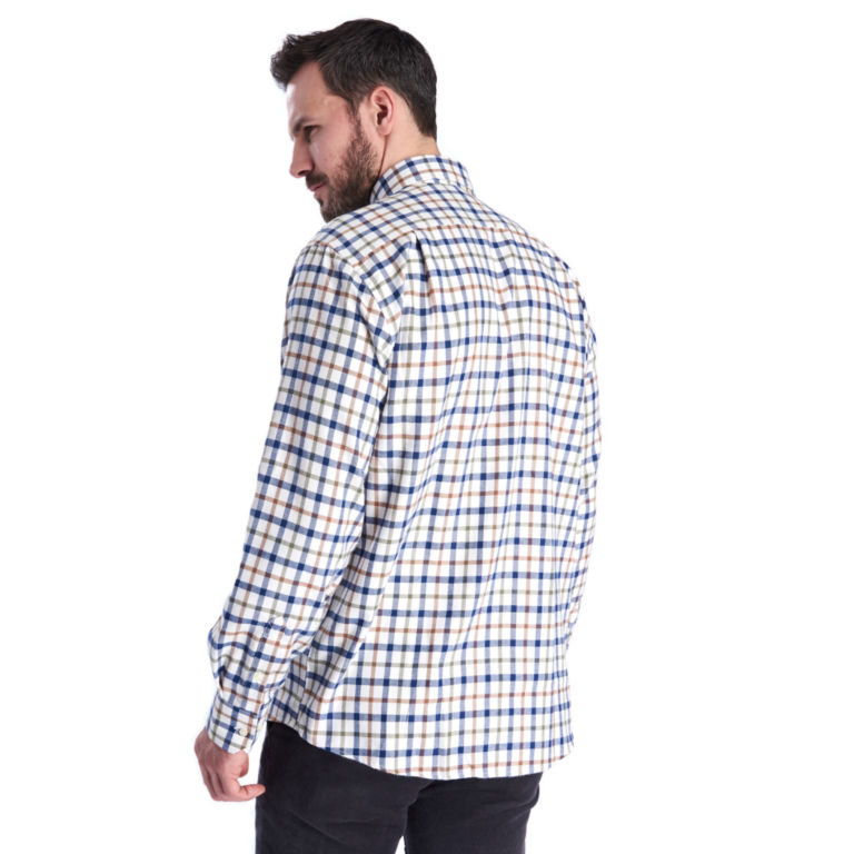 Barbour®  Collthermo Weave Long-Sleeved Shirt - ECRU image number 1