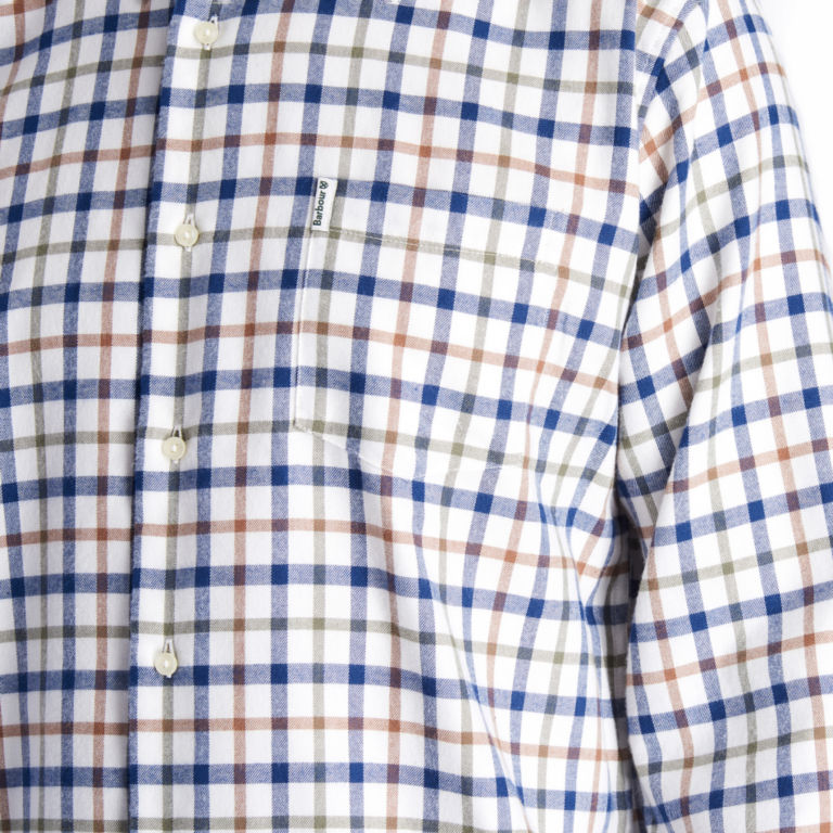 Barbour®  Collthermo Weave Long-Sleeved Shirt - ECRU image number 3