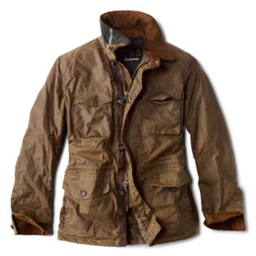 Barbour®  Teddon Wax - BROWN image number 0