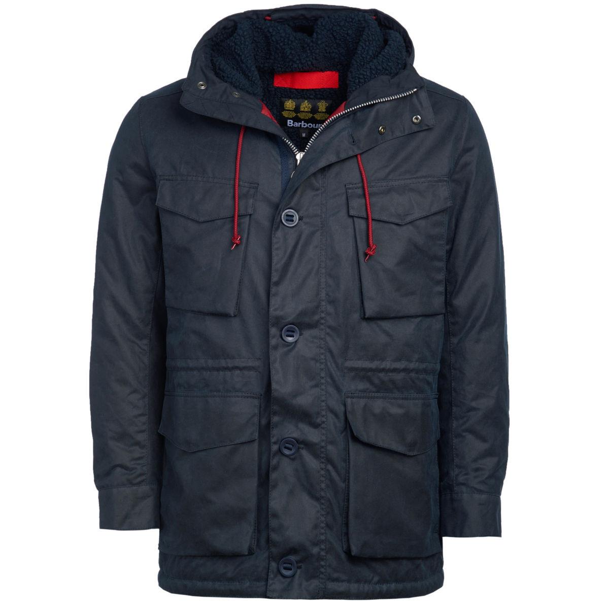 Barbour®  Ordel Wax Jacket - NAVYimage number 0