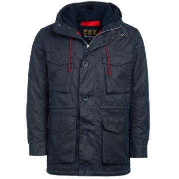 Barbour®  Ordel Wax Jacket - NAVY image number 0