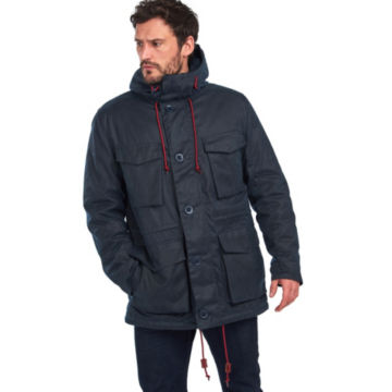 Barbour®  Ordel Wax Jacket - NAVY image number 1