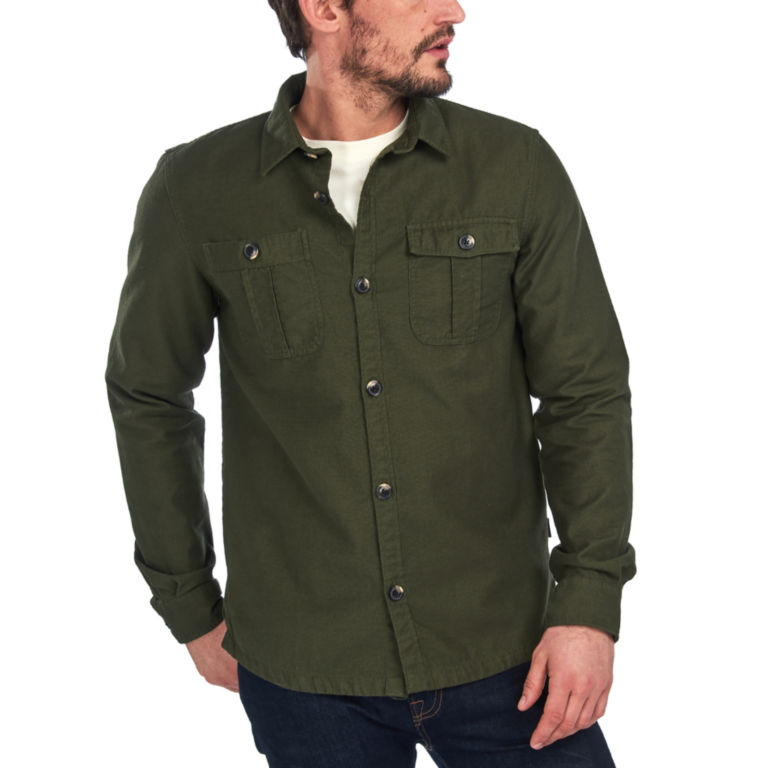 Barbour® Wingate Overshirt - OLIVE image number 2