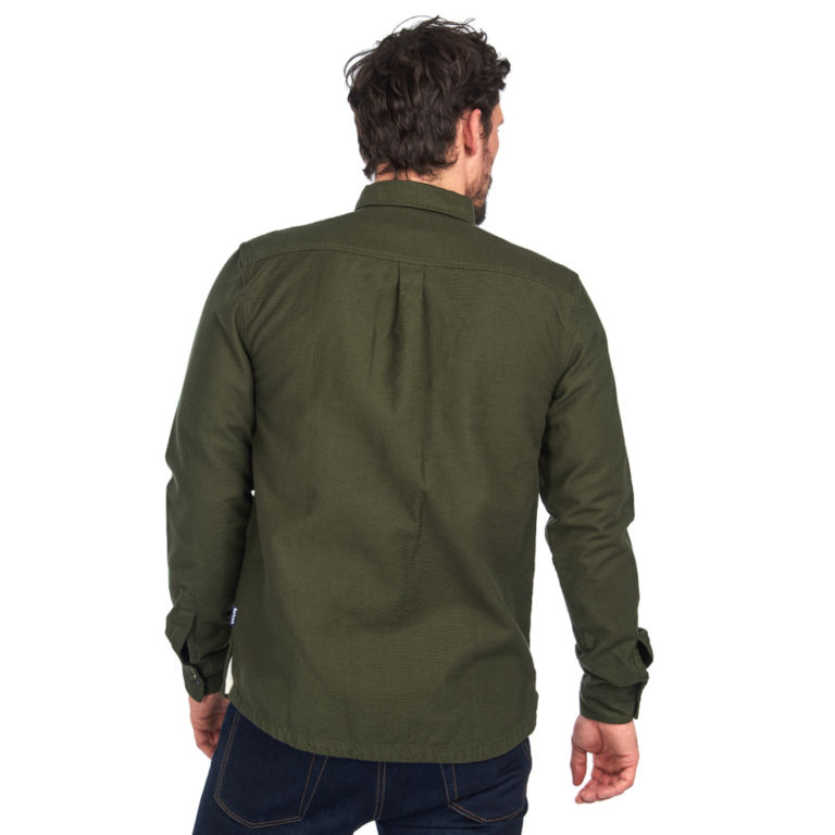 Barbour® Wingate Overshirt - OLIVE image number 3