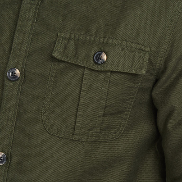 Barbour® Wingate Overshirt - OLIVE image number 5