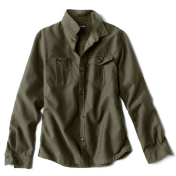 Barbour® Wingate Overshirt - OLIVE image number 0