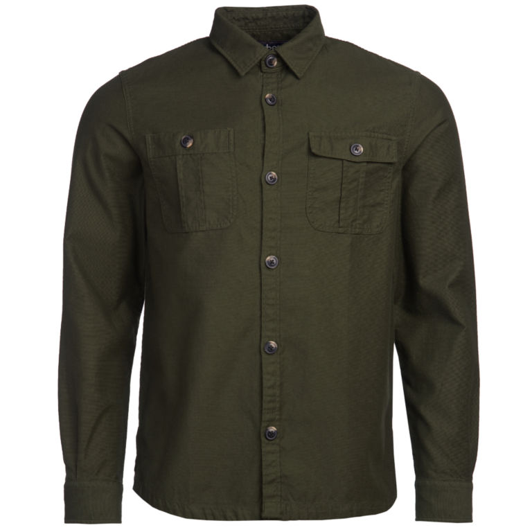 Barbour® Wingate Overshirt - OLIVE image number 1